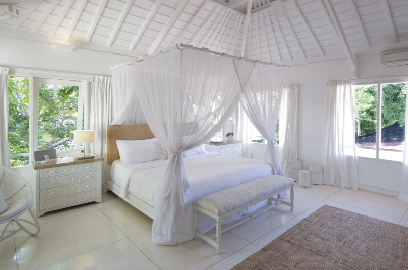 Bedroom with View - Villa Hermosa - Seminyak, Bali