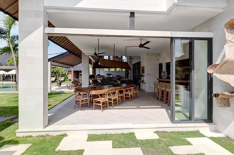 Dining Area View - Villa Iluh - Seminyak, Bali