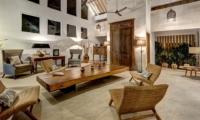Indoor Living Area - Villa Iluh - Seminyak, Bali