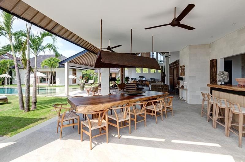 Dining Area - Villa Iluh - Seminyak, Bali