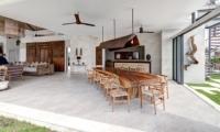 Indoor Dining Area - Villa Iluh - Seminyak, Bali