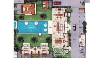 Floor Plan - Villa Iluh - Seminyak, Bali