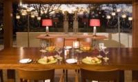 Dining Table with Crockery - Villa Indah Manis - Uluwatu, Bali