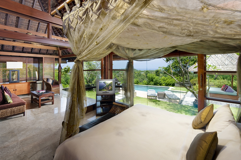 Bedroom with Pool View - Villa Indah Manis - Uluwatu, Bali