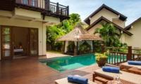 Pool Side Loungers - Villa Indah Ungasan - Uluwatu, Bali