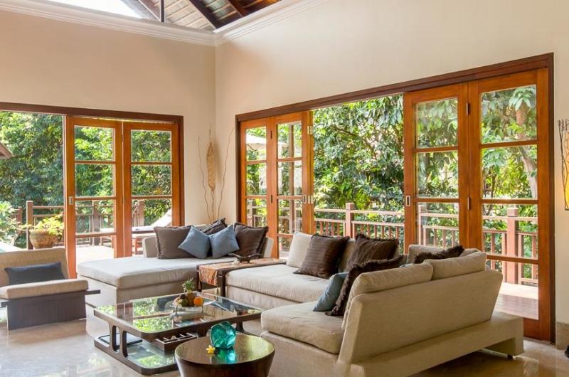 Living Area with Pool View - Villa Indah Ungasan - Uluwatu, Bali