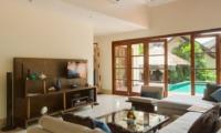 Living Area with TV - Villa Indah Ungasan - Uluwatu, Bali