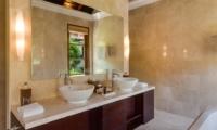His and Hers Bathroom - Villa Indah Ungasan - Uluwatu, Bali