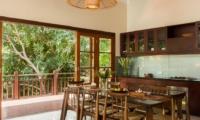 Kitchen and Dining Area - Villa Indah Ungasan - Uluwatu, Bali