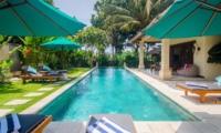 Pool Side - Villa Intan - Seminyak, Bali