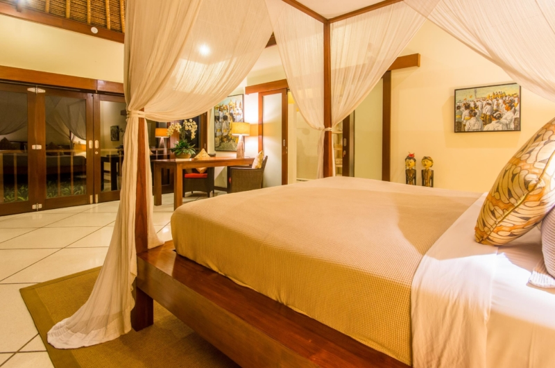 Bedroom at Night - Villa Intan - Seminyak, Bali