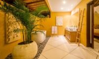Semi Open His and Hers Bathroom - Villa Intan - Seminyak, Bali