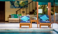 Pool Side Seating Area - Villa Intan - Seminyak, Bali