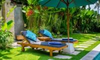 Sun Beds - Villa Intan - Seminyak, Bali