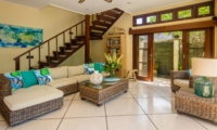 Living Area with Up Stairs - Villa Intan - Seminyak, Bali