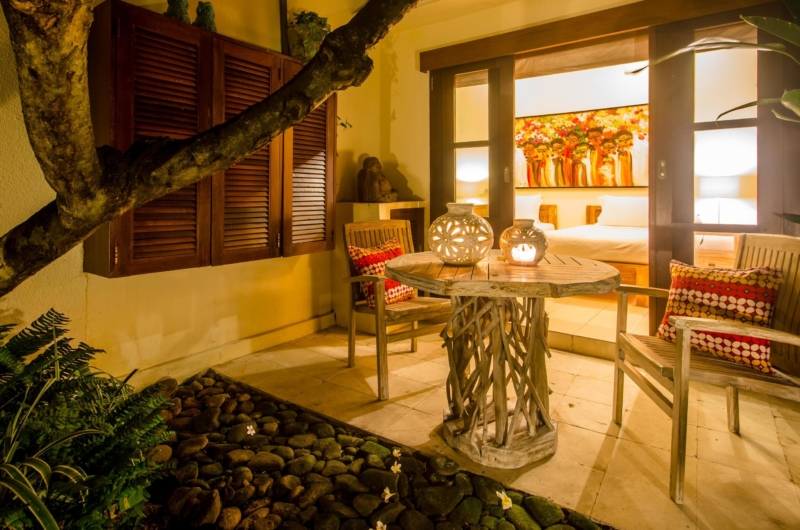 Outdoor Seating Area - Villa Intan - Seminyak, Bali