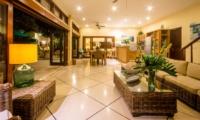 Living and Dining Area - Villa Intan - Seminyak, Bali