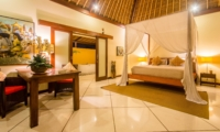 Bedroom with Table Lamps - Villa Intan - Seminyak, Bali