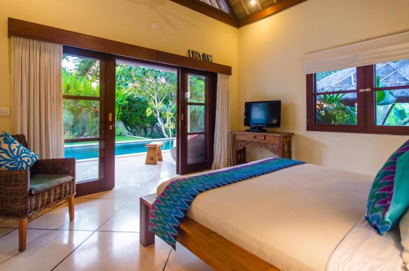 Bedroom with Pool View - Villa Intan - Seminyak, Bali