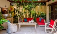 Outdoor Lounge - Villa Intan - Seminyak, Bali