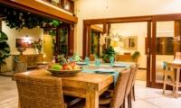 Dining Area with Fruits - Villa Intan - Seminyak, Bali