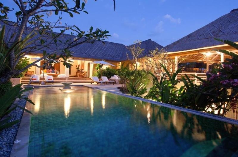 Pool at Night - Villa Inti - Canggu, Bali