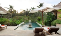 Gardens and Pool - Villa Inti - Canggu, Bali