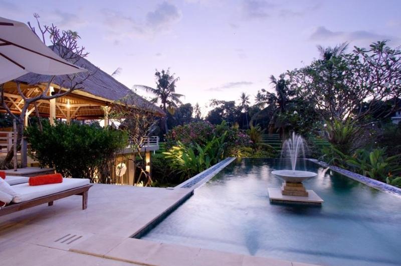 Pool Side Loungers - Villa Inti - Canggu, Bali