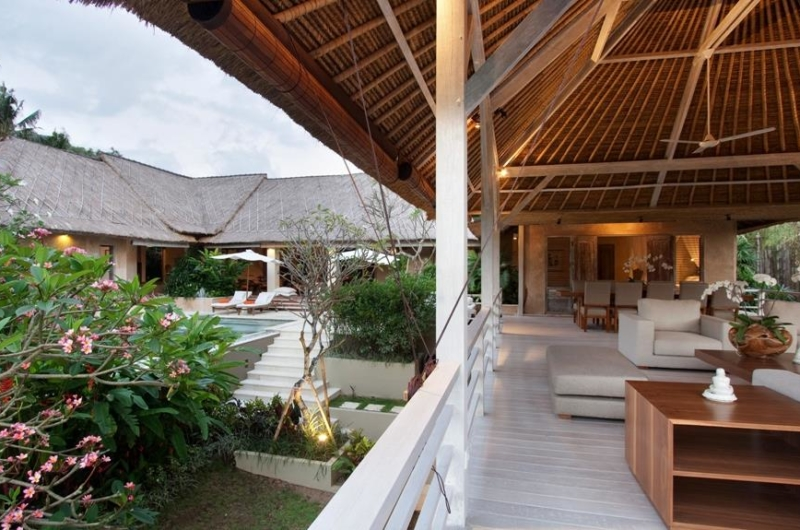 Living Area with Pool View - Villa Inti - Canggu, Bali