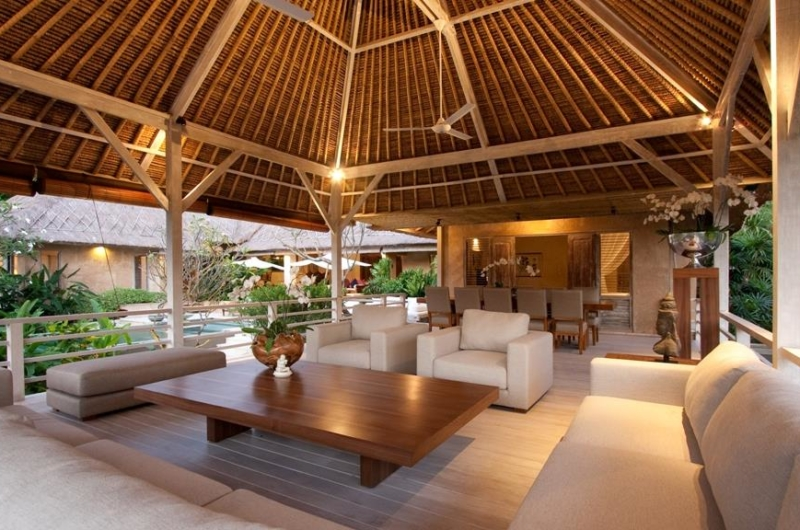 Living and Dining Area - Villa Inti - Canggu, Bali