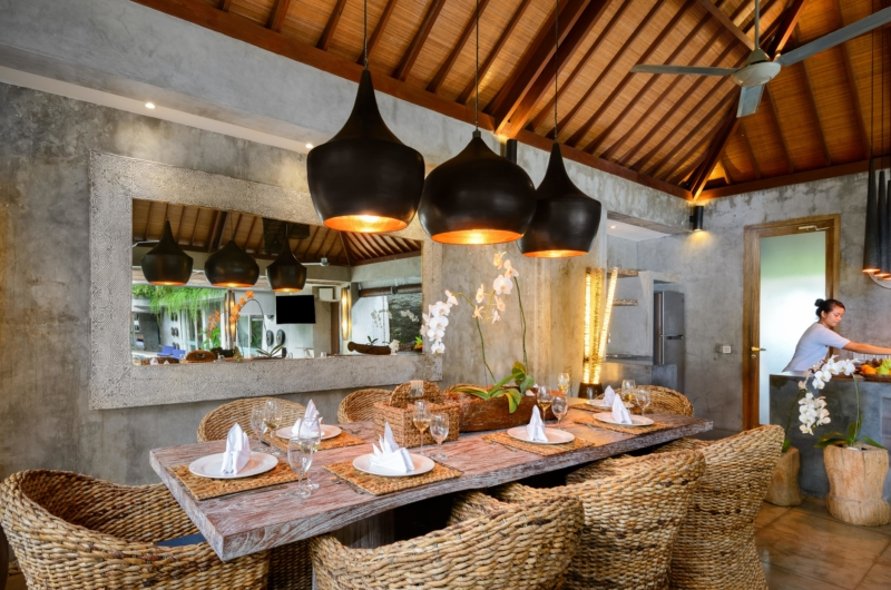 Kitchen and Dining Area - Villa Ipanema - Canggu, Bali