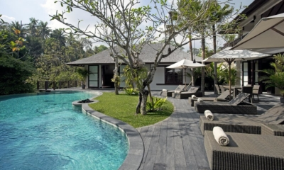 Pool Side loungers - Villa Iskandar - Seseh, Bali