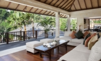 Living Area with View - Villa Iskandar - Seseh, Bali