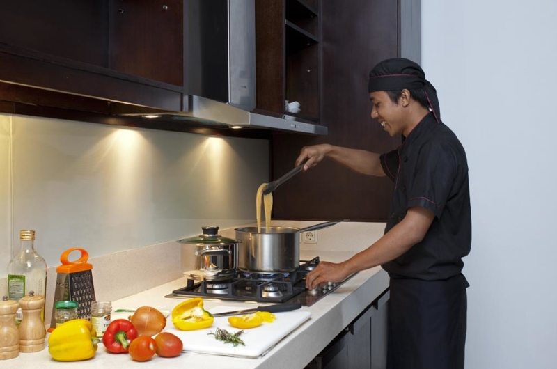 Kitchen with Chef - Villa Iskandar - Seseh, Bali