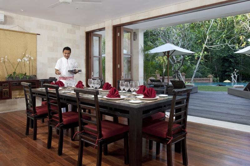 Indoor Dining Area - Villa Iskandar - Seseh, Bali