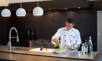 Kitchen Area with Chef - Villa Issi - Seminyak, Bali