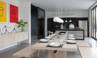 Kitchen and Dining Area - Villa Issi - Seminyak, Bali