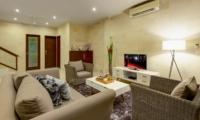 Living Area with TV - Villa Istana Dua - Seminyak, Bali