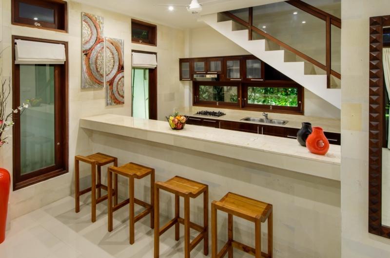 Kitchen - Villa Istana Dua - Seminyak, Bali