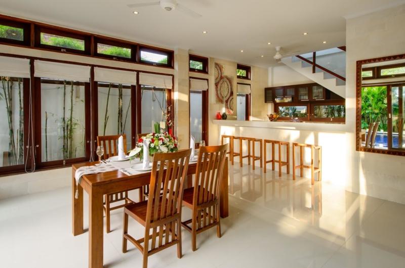 Kitchen and Dining Area - Villa Istana Dua - Seminyak, Bali