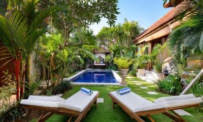 Gardens and Pool - Villa Istana Satu - Seminyak, Bali