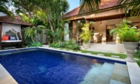 Pool Side - Villa Istana Satu - Seminyak, Bali