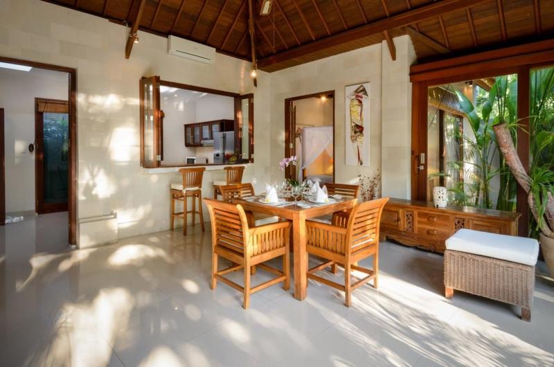 Dining Area - Villa Istana Satu - Seminyak, Bali