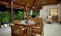 Dining Area with Pool View - Villa Istana Satu - Seminyak, Bali