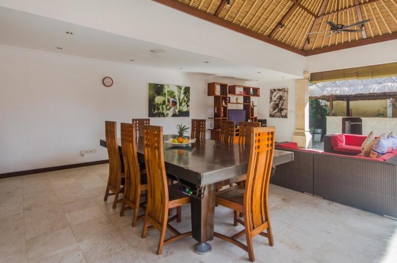 Living and Dining Area - Villa Jaclan - Seminyak, Bali