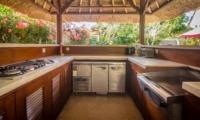Open Area Kitchen Area - Villa Jaclan - Seminyak, Bali