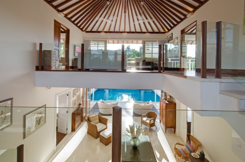 Up Stairs Area - Villa Jajaliluna - Seminyak, Bali