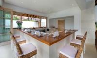 Kitchen and Dining Area - Villa Jajaliluna - Seminyak, Bali