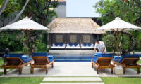 Pool Side - Villa Jemma - Seminyak, Bali