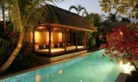 Swimming Pool at Night - Villa Jemma - Seminyak, Bali